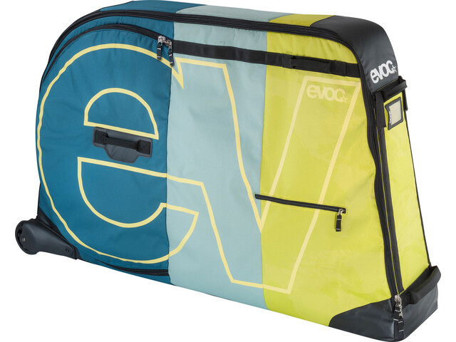 Evoc Bike Travel Bag Cykelkuffert 280 L grøn/petroleumsgrøn | Cykelkuffert